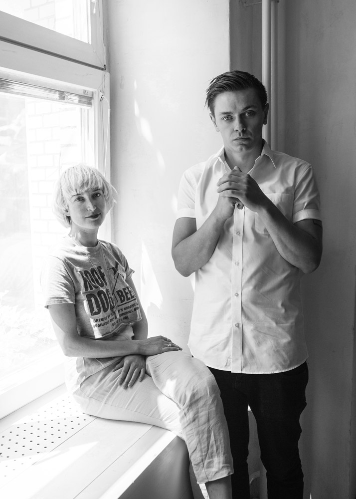 Peter Dreimanis & Leah Fay of July Talk